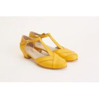 Sugar Yellow Leather